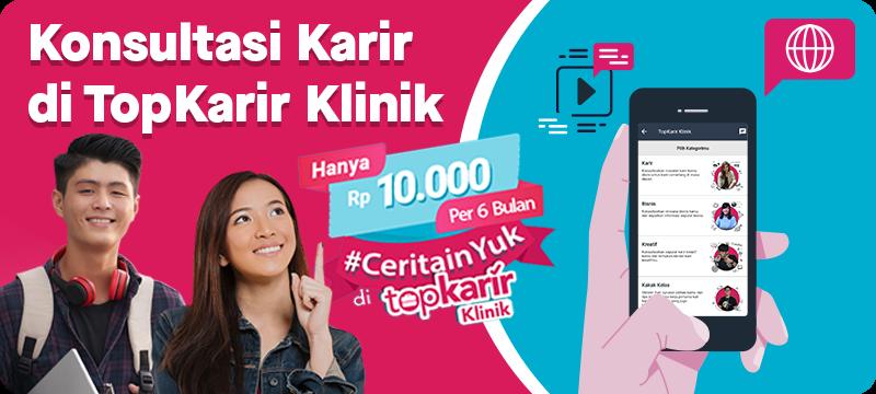 Lowongan Kerja PT. TOP KARIR INDONESIA   TopKarir.com