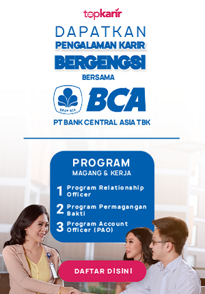BCA - Lowongan